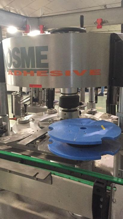 Maschine: KOSME EXTRA ADHESIVE 720 6T S2 E2 Adhesive labelling machines