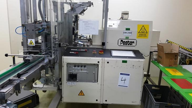Maschine: PESTER Pewo - Pack 450 SN Wrapping machines