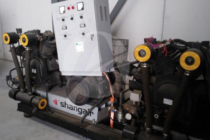 Maschine: SHANGAIR 83SH High pressure compressor
