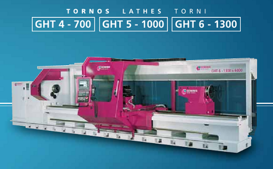 Maschine: GEMINIS GHT5 1000X4000 CNC Turning Machines