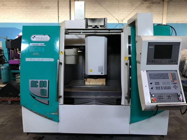 Maschine: TRENS MC100 VA Numerically Controlled Machining Centres