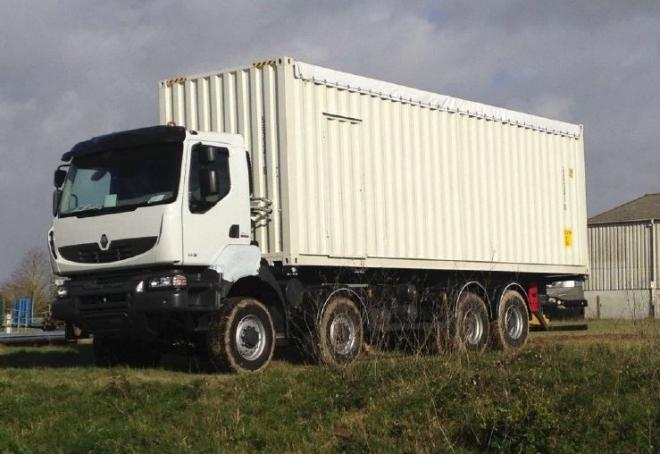 Maschine: RENAULT LUBE TRUCK New Surplus