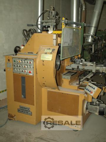 Maschine: LOCATELLI BOWL AND PLATE Locatelli hydraulic Lathe Lathes