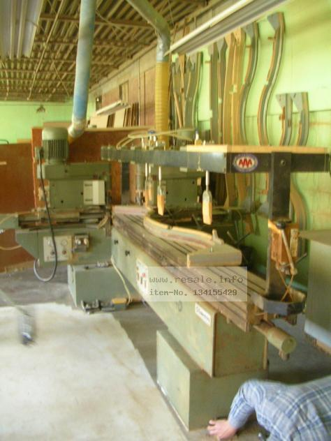 Maschine: BALLISTRINE DOUBLE SIDED Ballistrine 2 linear profiler Double spindle milling machines