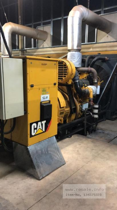 Maschine: CATERPILLAR C32 Emergency power generators