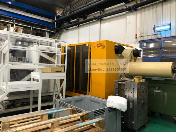 Maschine: HUSKY HYLECTRIC H600 RS80/70 Injection molding machines