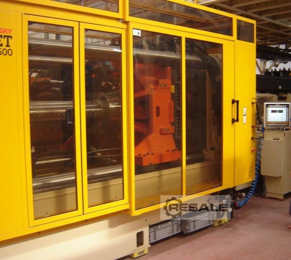 Maschine: HUSKY HYPET500 144cav mold system PET Preforming machines