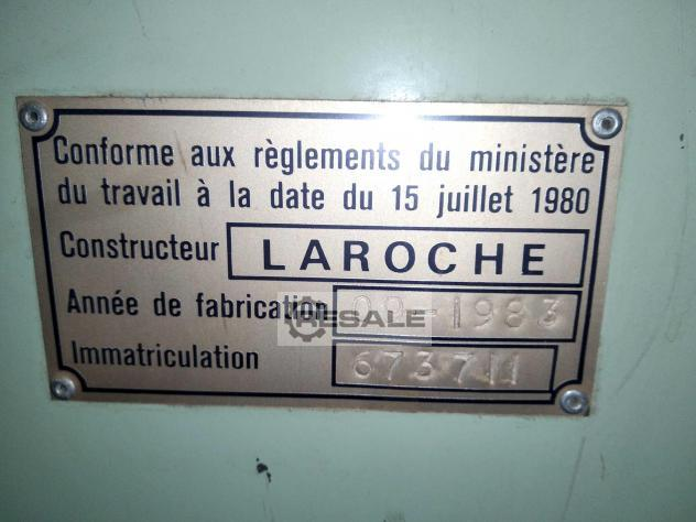 Maschine: LAROCHE - FRANCE Year 1983 Tearing machines for textile recycling