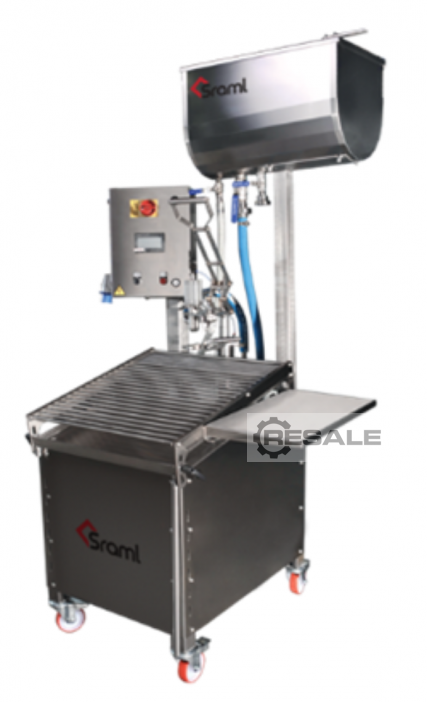 Maschine: SRAML RBB semi-automatic BiB filling Filling equipment semi-automatic