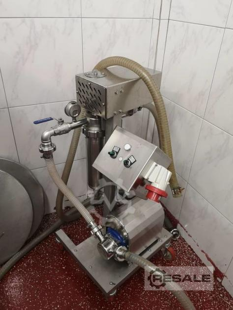 Maschine: SRAML Self-cleaning filter JF1500 Filling equipment