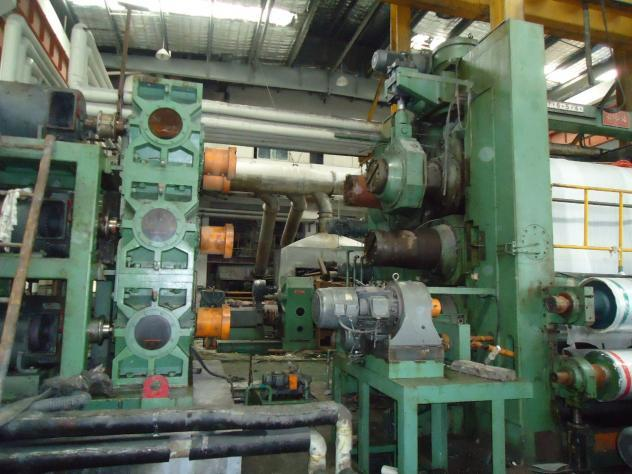 Maschine: FORWARD MACHINERY TAIWAN 4000mm 4 roll PVC  Calender Calender lines