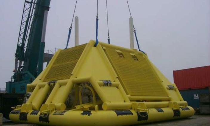 Maschine: SCS Subsea Tree Oil & Gas Subsea Tree