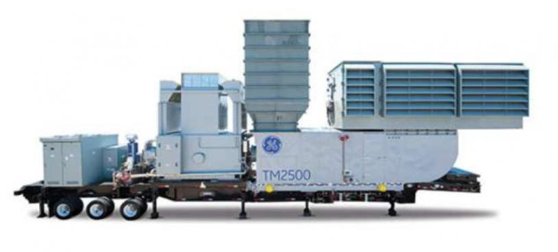 Maschine: GE TM2500 GE TM2500 Trailer Mobile