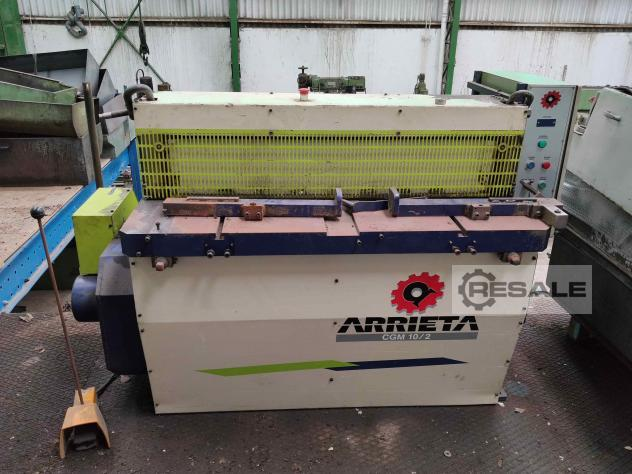 Maschine: ARRIETA CGM 10/2 Guillotine Shears