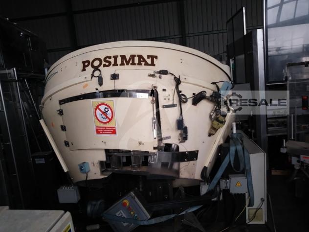 Maschine: POSIMAT MASTER 20 OC8524 BOTTLE POSITIONER
