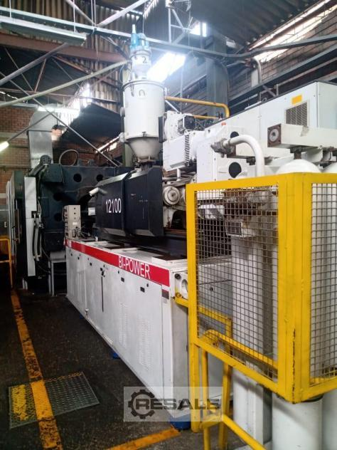 Maschine: NEGRI BOSSI SACMI 1300 Ton VH1300 120mm Screw Injection molding machines