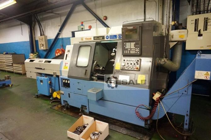 Maschine: MAZAK Super Quick Turn 10M CNC Turning Machines