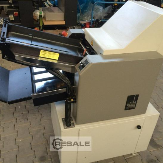 Maschine: STAHL Quickfolder T34 Automatic folding machines
