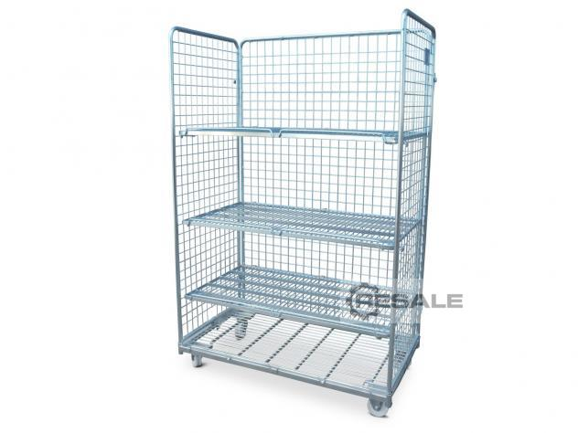 Maschine: REGALUX  Picking trolley 1160x660x1800 galvanized