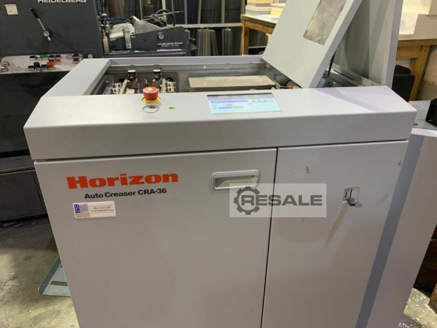 Maschine: HORIZON CRA 36 AUTO CREASER Packaging machines