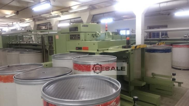 Maschine: N. Schlumberger &  Cie Acrylic mIll Worsted yarn spinning machines
