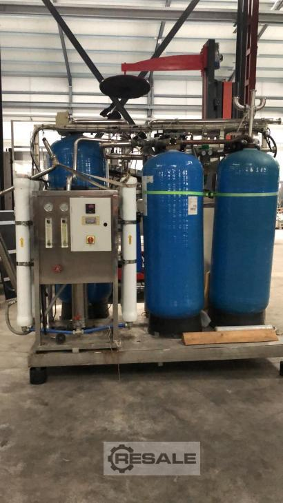 Maschine:   WATER TREATMENT SYSTEM