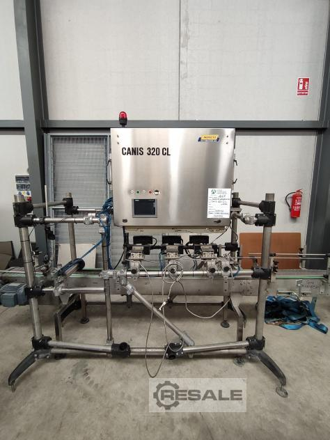 Maschine: IINSPECT CANIS 320 CL PORE, ODOR AND RESIDUE CONTROLLER INSPECTOR.