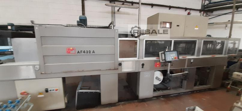 Maschine: SMI AF432A Shrink wrapper machines