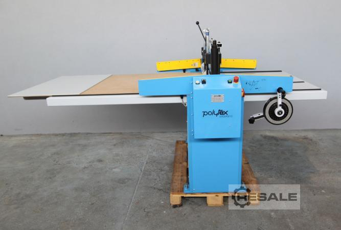 Maschine: POLYTEX ZP Guillotine and rotary cutters