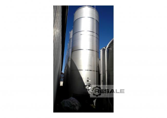 Maschine: BAUER 5 x KZE Tank 33140 L 33 m³ Stainless steel tanks and containers