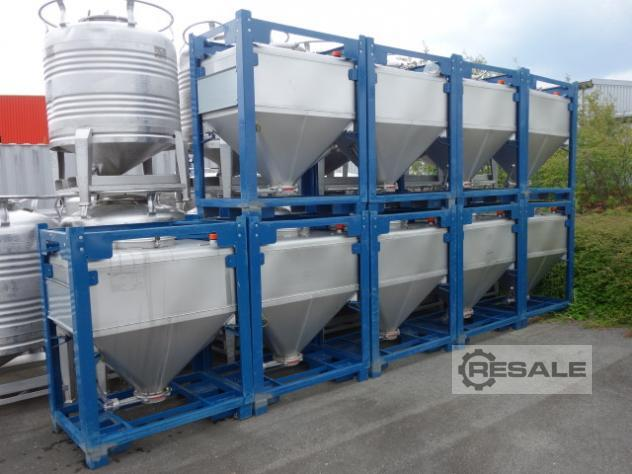 Maschine: SILO-CONTAINER 550 LTR. Schäfer Process vessels