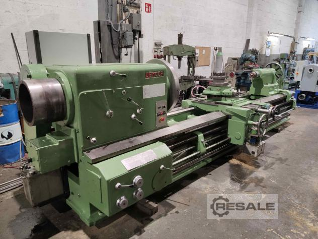 Maschine: DEMOOR 825-320x3000 Hollow Spindle Turning Machines (Lathes)