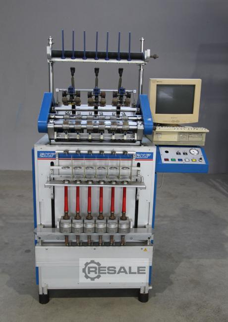 Maschine: SKF Lab-Spinner Ring spinning machines