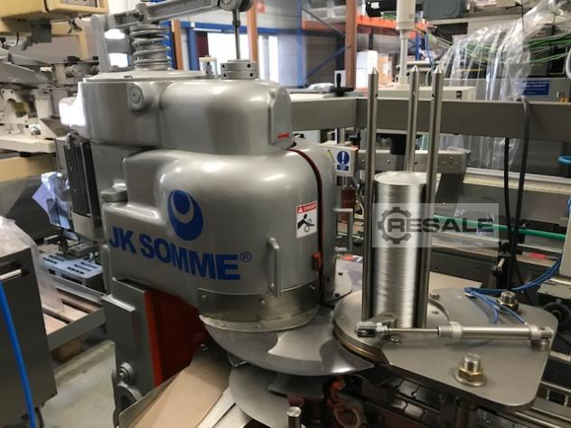 Maschine: JK SOMME CAN SEALER. 320 R Can filling machines
