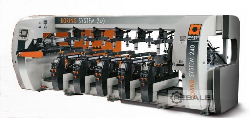 Maschine: MAGGI BORING SYSTEM 240 5V Drilling And Boring Machines