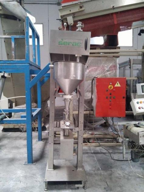 Maschine: SERAC 2229BL Gravimetric filling machine
