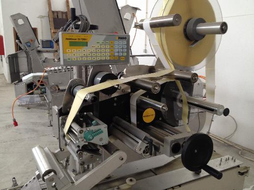 Maschine: PAGO Pagomat /15/120 i Top Labeler